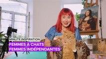Minute inspiration : « femme à chats » et féministe