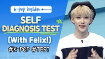 "[Pops in Seoul] 'Self Diagnosis Test' with Felix(필릭스, Stray Kids), ""Are You a Die-Hard K-pop Fan?"""