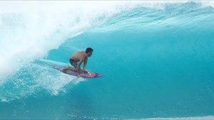 Hawaiian Summer Surfing