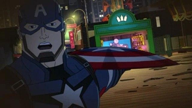 Avengers Assemble S03E25 Civil War  The Drums of War