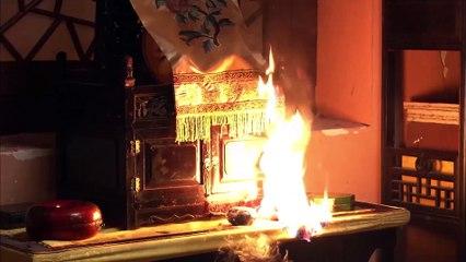 甄嬛眉庄的计谋得逞,皇上得知是华妃放火,要处死华妃