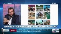 #Magnien, la chronique des réseaux sociaux : A Annecy, ils nettoient les déchets du lac - 05/09