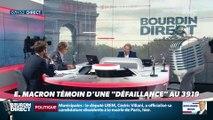 """Nicolas Poincaré : Emmanuel Macron témoin d'une """"défaillance"""" au 3919 - 05/09"""