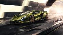 Lamborghini Sián - la supersportiva ibrida in edizione limitata che anticipa il futuro