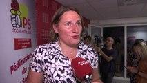 """""""Le Parti socialiste est la 2e force politique municipale"""" rappelle Valérie Rabault, présidente du groupe socialiste à l'Assemblée nationale"""