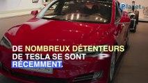 Des propriétaires de Tesla incapables d'ouvrir leur voiture avec l'application