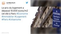 Immobilier : Le prix du mètre carré a dépassé les 10 000 euros à Paris