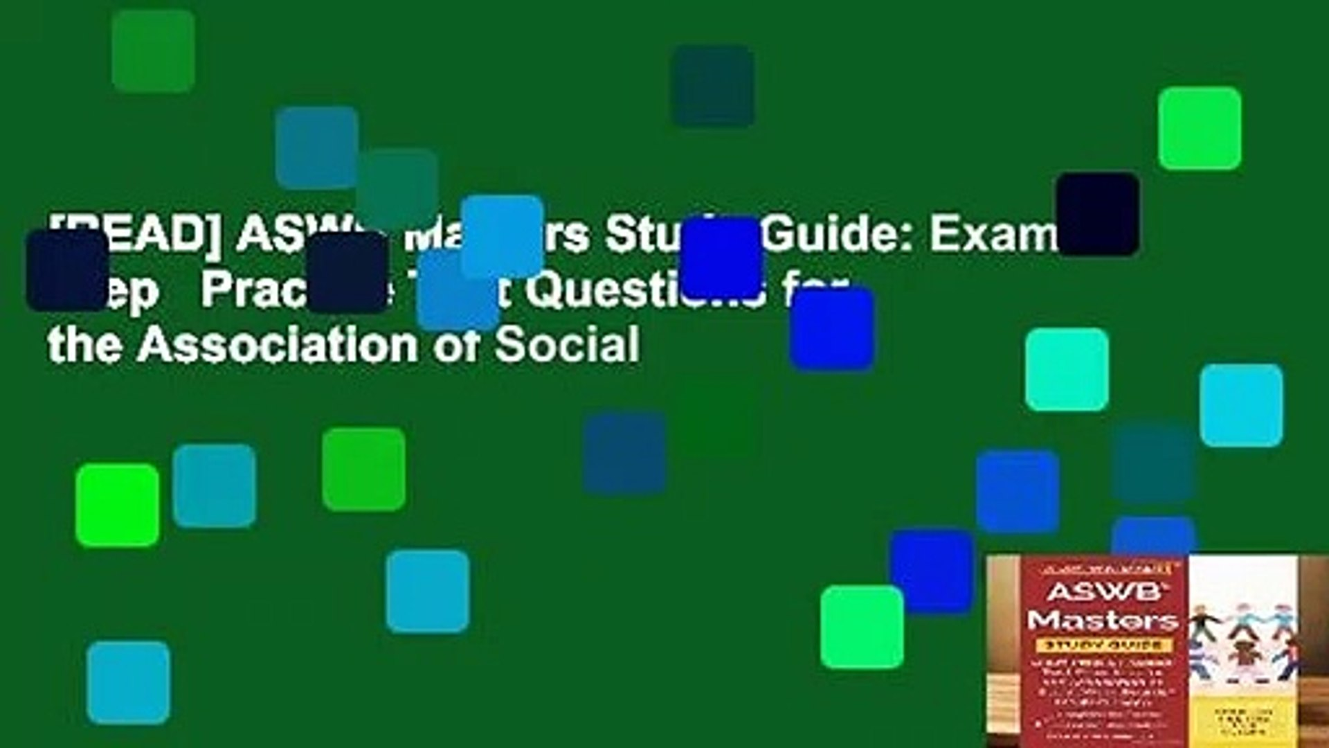 [READ] ASWB Masters Study Guide: Exam Prep   Practice Test Questions for the Association of Social