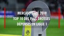 Ligue 1 : Top 10 des plus gros achats du mercato d'été 2019