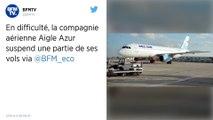 La compagnie aérienne Aigle Azur, en difficulté, suspend une partie de ses vols