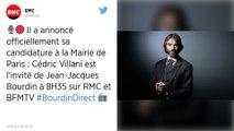 Municipales. Cédric Villani officialise sa candidature à la mairie de Paris