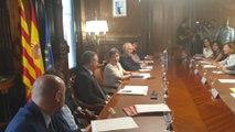 Reunión de jueces para abordar la situación de Barcelona