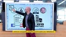 Violences conjugales : enquête ouverte après la défaillance au 3919 devant Macron