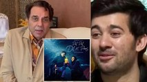 Sunny Deol's son Karan Deol shocked to see Dharmendra on Pal Pal Dil Ke Paas sets | FilmiBeat