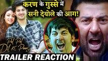 Trailer Reaction- People Like Karan Deol's Angry Man Avatar In Pal Pal DIl Ke Paas!