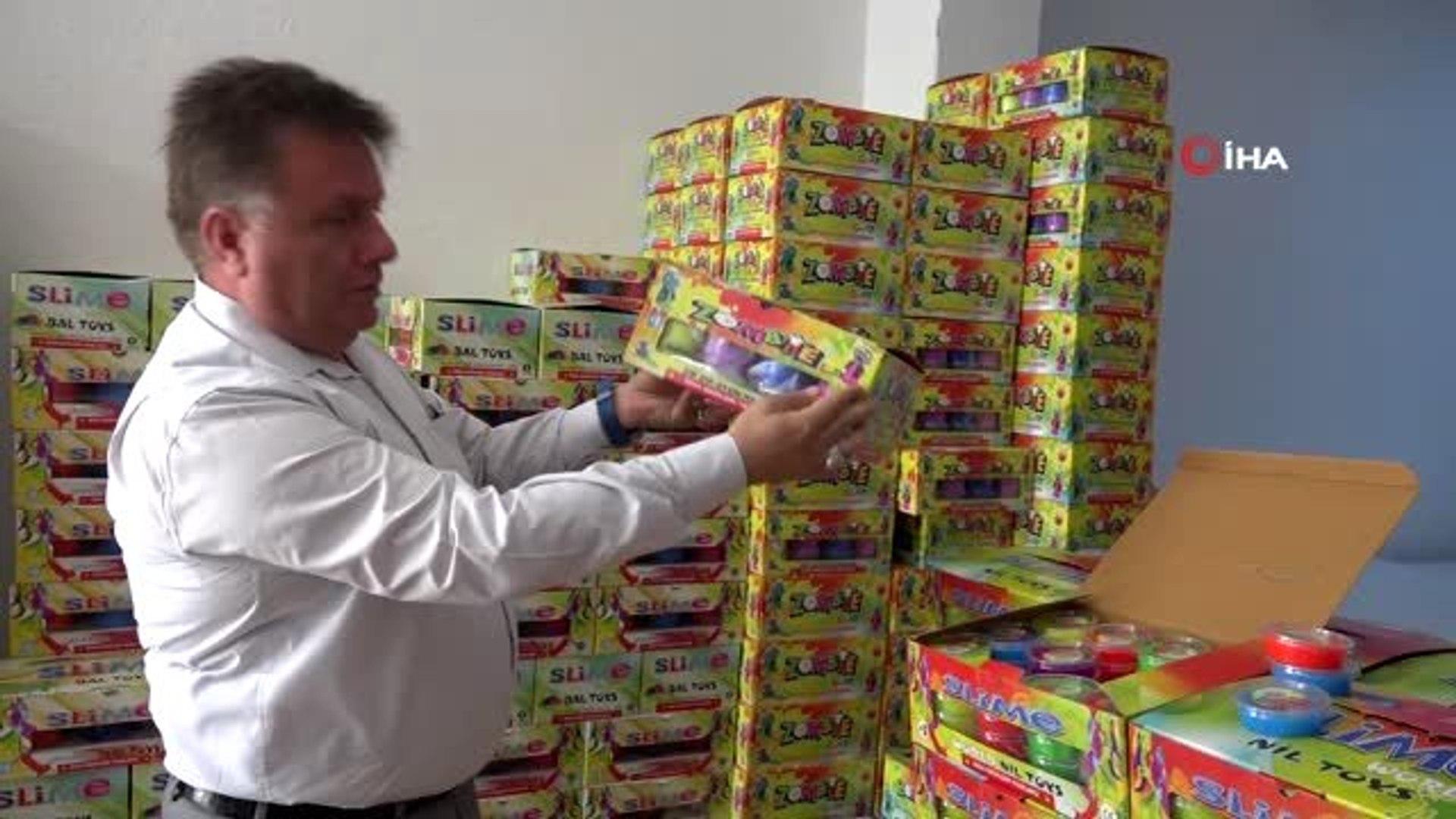 İzmir'de okul öncesi zehirli oyuncak operasyonu