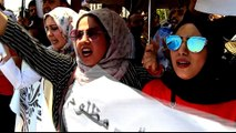 Iraq protests: Thousands of graduates demand jobs from government