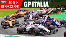 Claves GP Italia 2019: La Fórmula 1 llega al templo de la velocidad