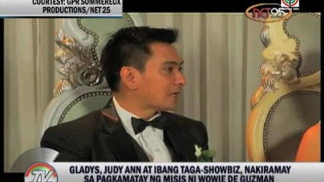 Judy Ann, Gladys offer condolences to Wowie