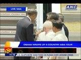 Obama leaves PH, caps 4-nation Asia tour