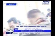 Vhong, Cedric Lee appear before Taguig RTC