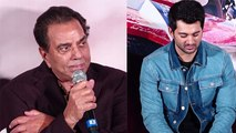 Dharmendra gets emotional at Karan Deol's Pal Pal Dil Ke Paas trailer launch | FilmiBeat