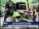 Filipino, American troops hold military drills in Cebu