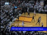Heat beats Nets, advances to Conference Finals