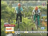 Skycycling, hydrozorbing and more at Poracay Resort
