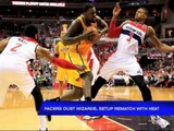 Pacers oust Wizards, set up rematch vs Heat