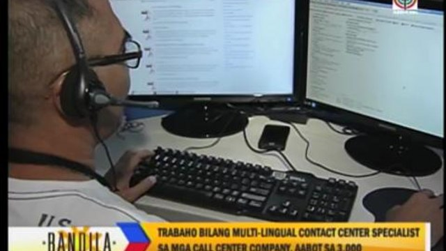 Call centers hiring foreign language speakers