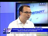 Napoles has powerful backers, says Cayetano