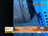 Man nabbed in Pasay cellphone snatching
