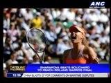 Sharapova reaches Roland Garros final