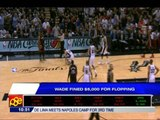 D-Wade fined for flopping