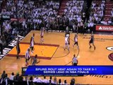 Spurs rout Heat again to take 3-1 series lead