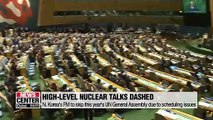 N. Korea shows discontent over stalled nuke talks and still-existing sanctions pressure