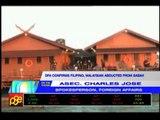 Kidnapped Filipino, Malaysian brought to PH