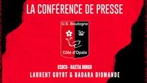 [NATIONAL] J6 Conférence de presse avant match USBCO - Bastia Borgo