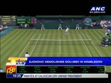 Djokovic demolishes Golubev in Wimbledon