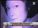National Artists to protest Nora Aunor snub