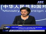 China, ASEAN tackle sea dispute