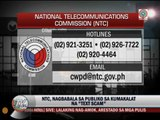 NTC warns against load-eating text scam
