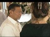 VP Binay visits wake of CSB hazing victim