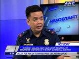 Warden lost control of Jinggoy, Bong guests: PNP
