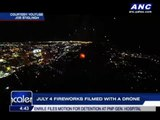 WATCH: July 4 fireworks filmed with a drone