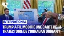 Donald Trump a-t-il modifié une carte de la trajectoire de l'ouragan Dorian ?