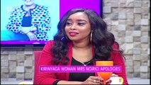 Kirinyaga Woman Rep Mrs. Ngirici Apologizes