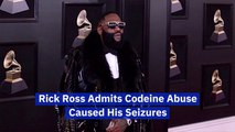 Rick Ross Admits To Drug Abuse