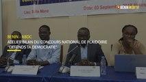 Bénin : l'ABDC fait le bilan du concours national de plaidoirie ''Défends ta Démocratie''